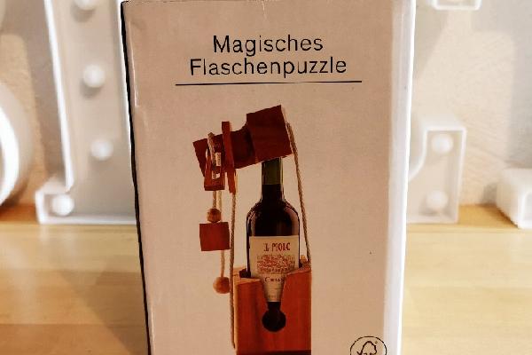 Magisches Flaschenpuzzle