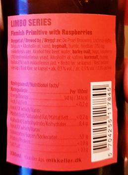 Mikkeller Flemish Primitve Raspberry etikett