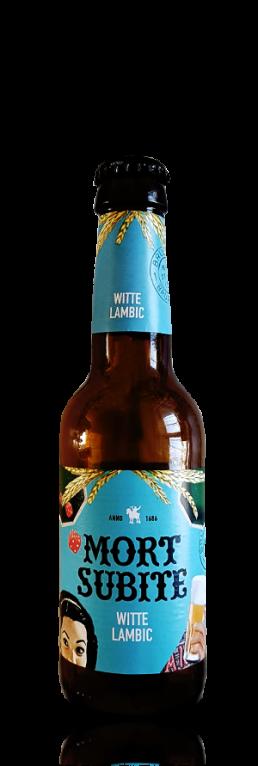 Mort Subite Witte Lambic flasche