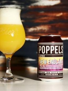 Poppels Bryggeri new england pale ale