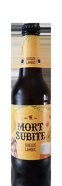 Mort Subite Gueze Lambic Flasche