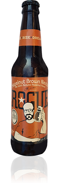 Rogue Hazelnut Brown Nectar flasche
