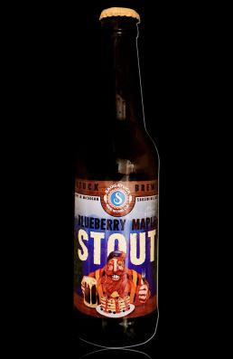 Saugatuck Blueberry Maple Stout flasche
