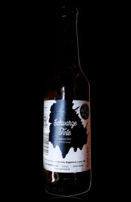 Dietrachinger Schwarze Tinte flasche