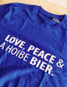 Meinherzschlag bier shirt