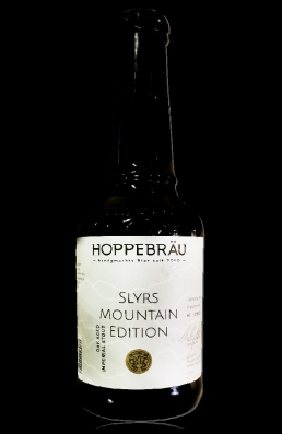 Hoppebräu Slyrs Mountain Edition flasche