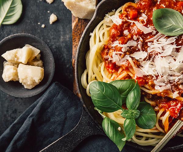 Spaghetti Bocklognese