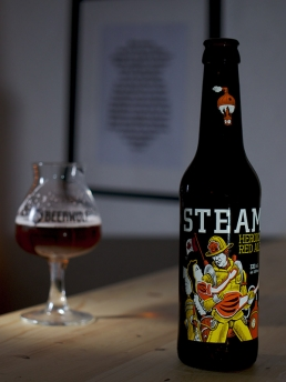 Steam Works Heroic Red Ale