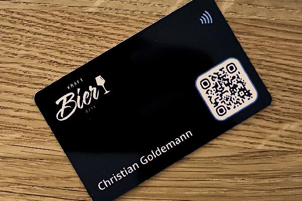 Tapni Digitale Visitenkarte