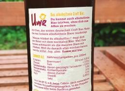 Trink Uwe Summer Ale Etikett
