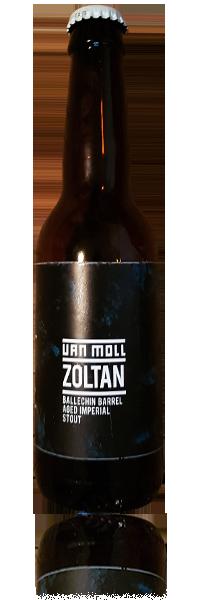 Van Moll Logo Zoltan flasche